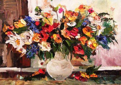 11« Полевой букет 2» («Field bouquet 2») 20x30sm