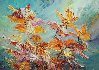 17« Калина » (« Guelder- rose») 45 x 60sm