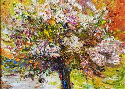 18«Дерево удачи » (« The tree of success») 35x35 sm