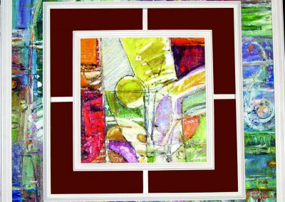 22 «Окно » (« The window») 80x80 sm