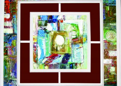 23 «Окно » (« The window») 80x80 sm