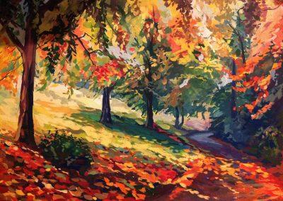 23 «Осеннее настроение .» («Autumn mood»)