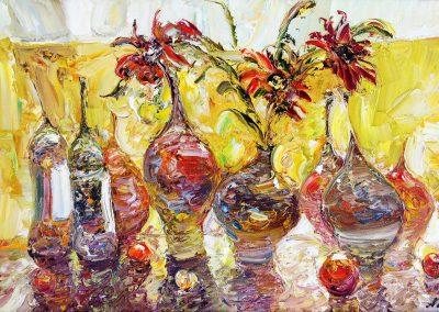 47«Кувшины » (« Vases») 20x25 sm