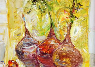 48«Кувшины » (« Vases») 25x40 sm