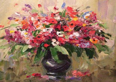 7«Полевой букет» («Field bouquet») 20x30 sm