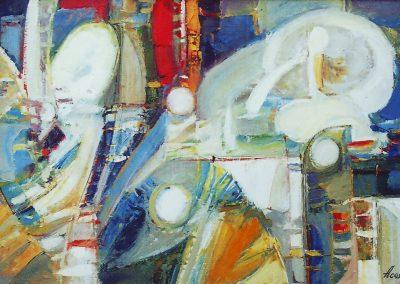 9«Муза » Muse» 45 x 60 sm