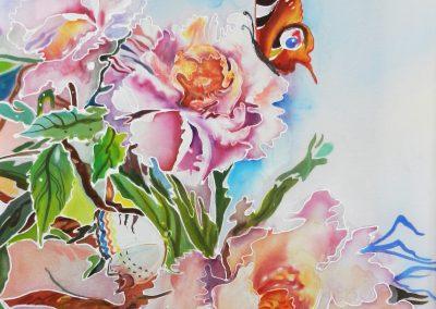 9 «Воображение» Батик («Imagination») Batik 25x40 sm